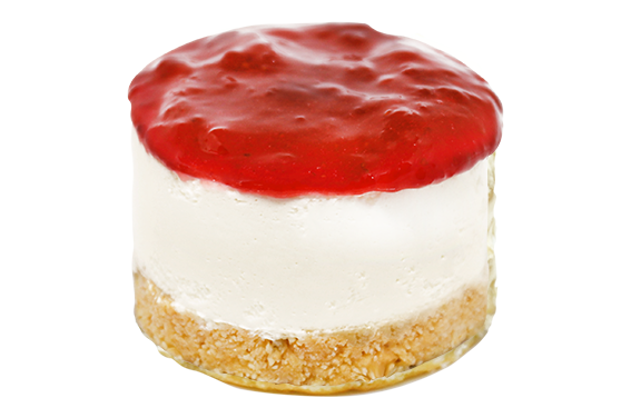 Mini Cheese Cake de Morango